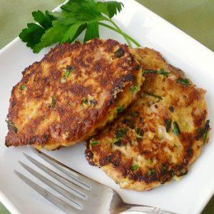 Tuna Cornbread Cakes, Joyful Homemaking