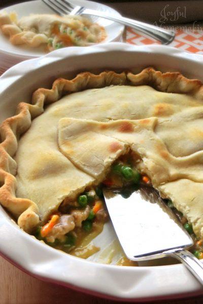 Chicken Pot Pie, Easy Chicken Pot Pie, Joyful Homemaking