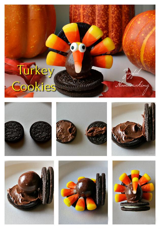 turkey cookies, Turkey Cookies, Joyful Homemaking